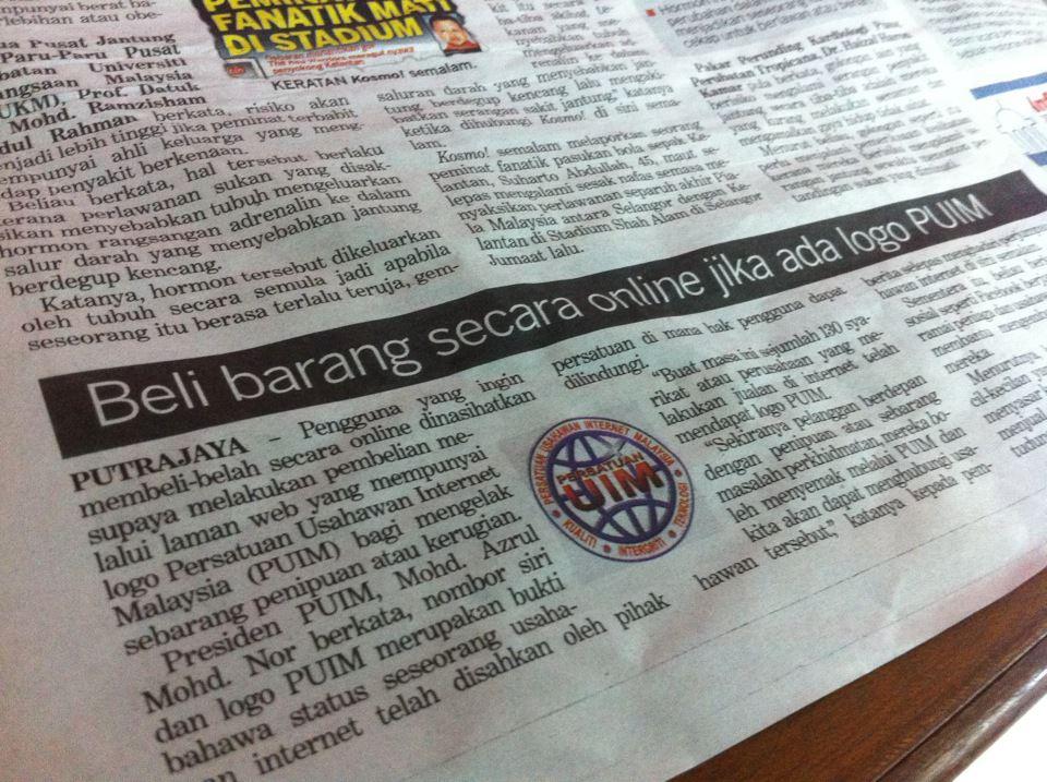 berita_Persatuan Usahawan Internet Malaysia