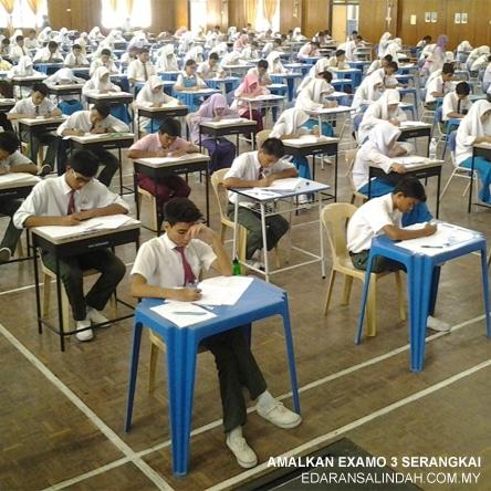 Pakej Examo Untuk Calon Peperiksaan UPSR, SPM, IPT